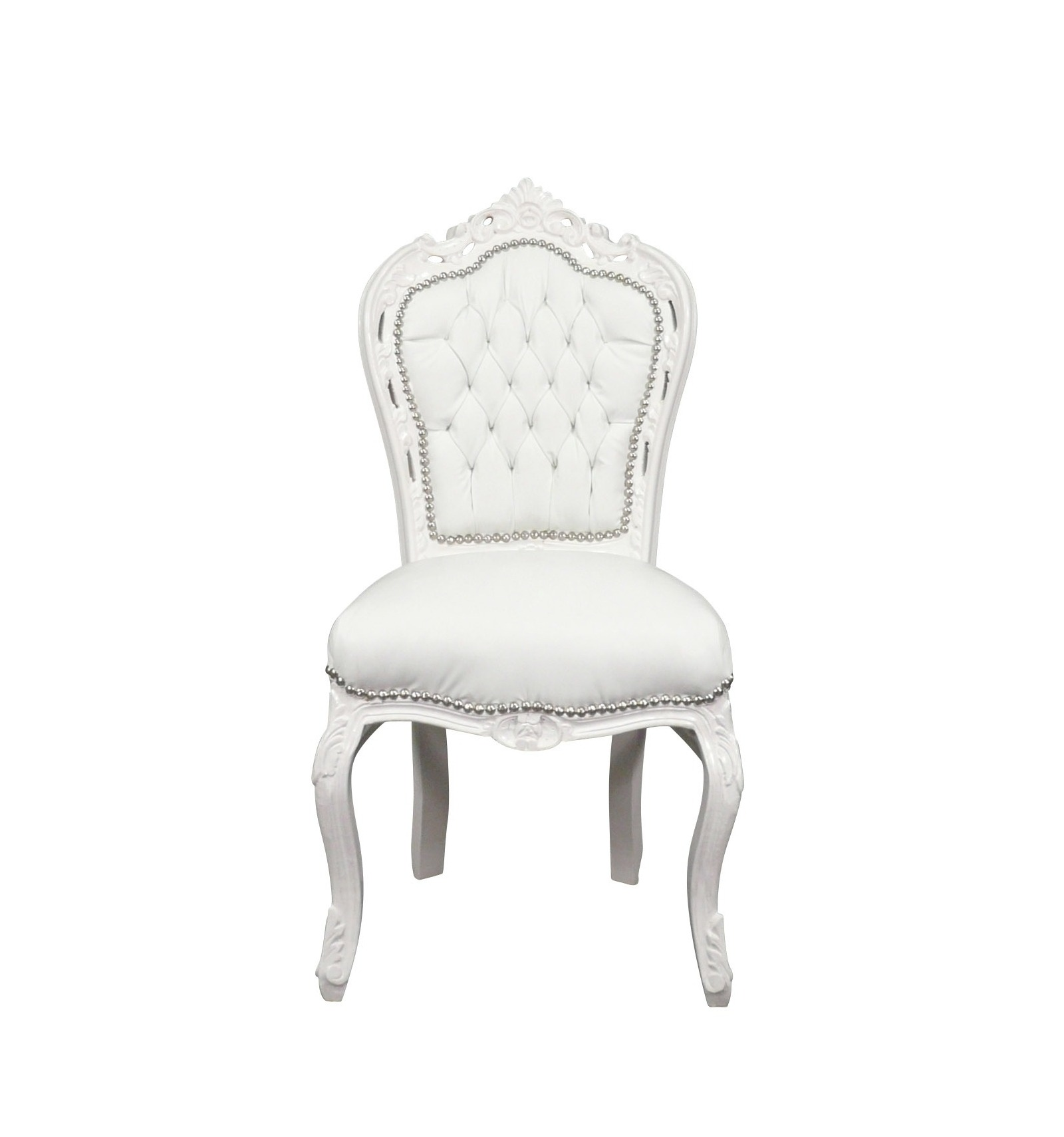 Chaise Blanche Pas Cher Chaise Baroque Blanche Meubles Baroques Pas Cher
