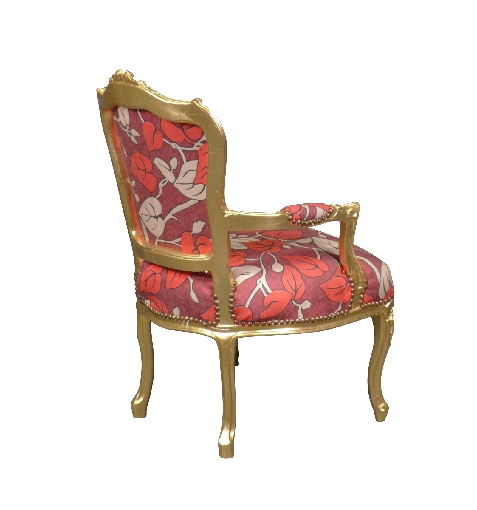 Sessel Multicolor Stuhl Louis Xv