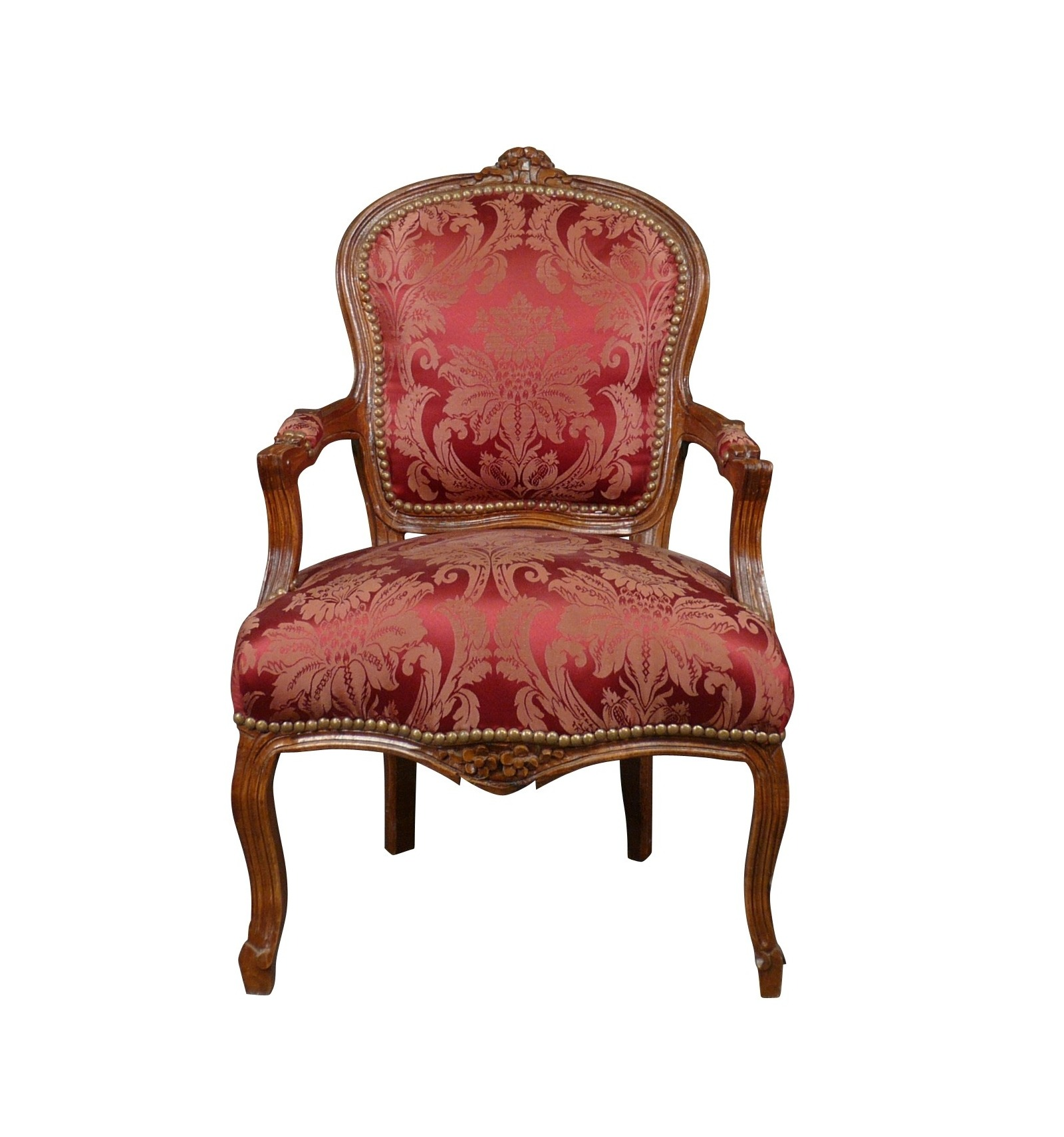 Sessel In Rot Louis Xv Sessel Rot Massivholz