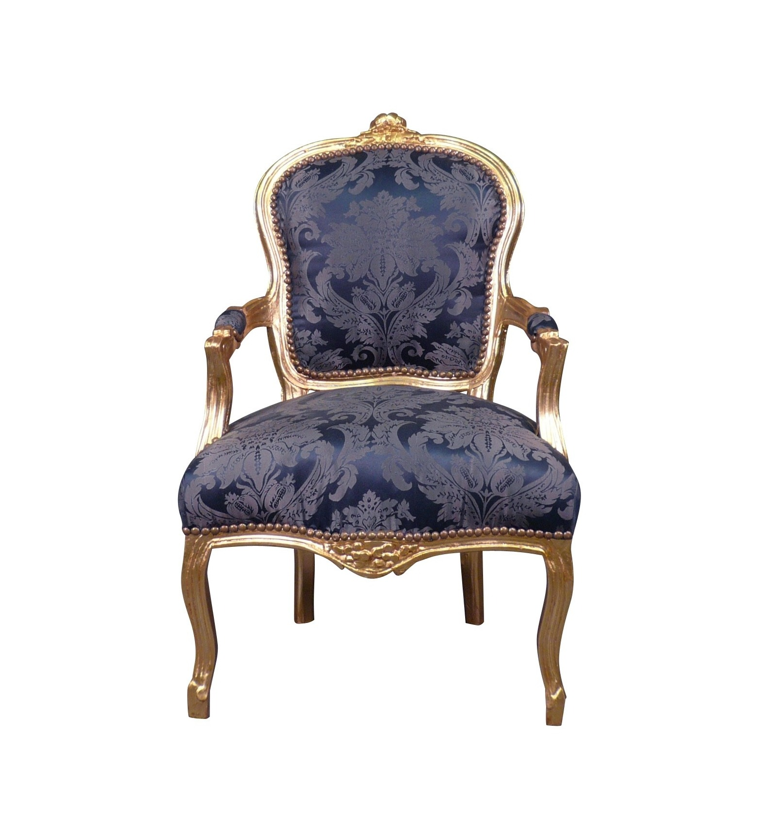 Möbel Sessel Louis Xv Sessel Royal Blue