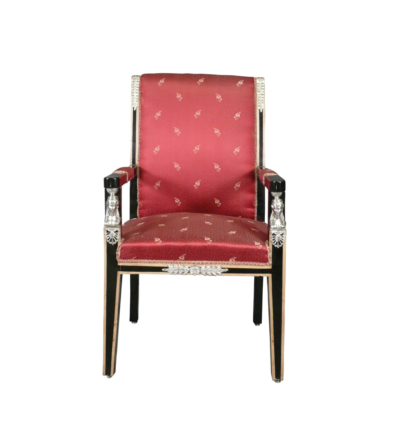 Fauteuils Tiffany Fauteuil Empire Rouge Mobilier Style Empire