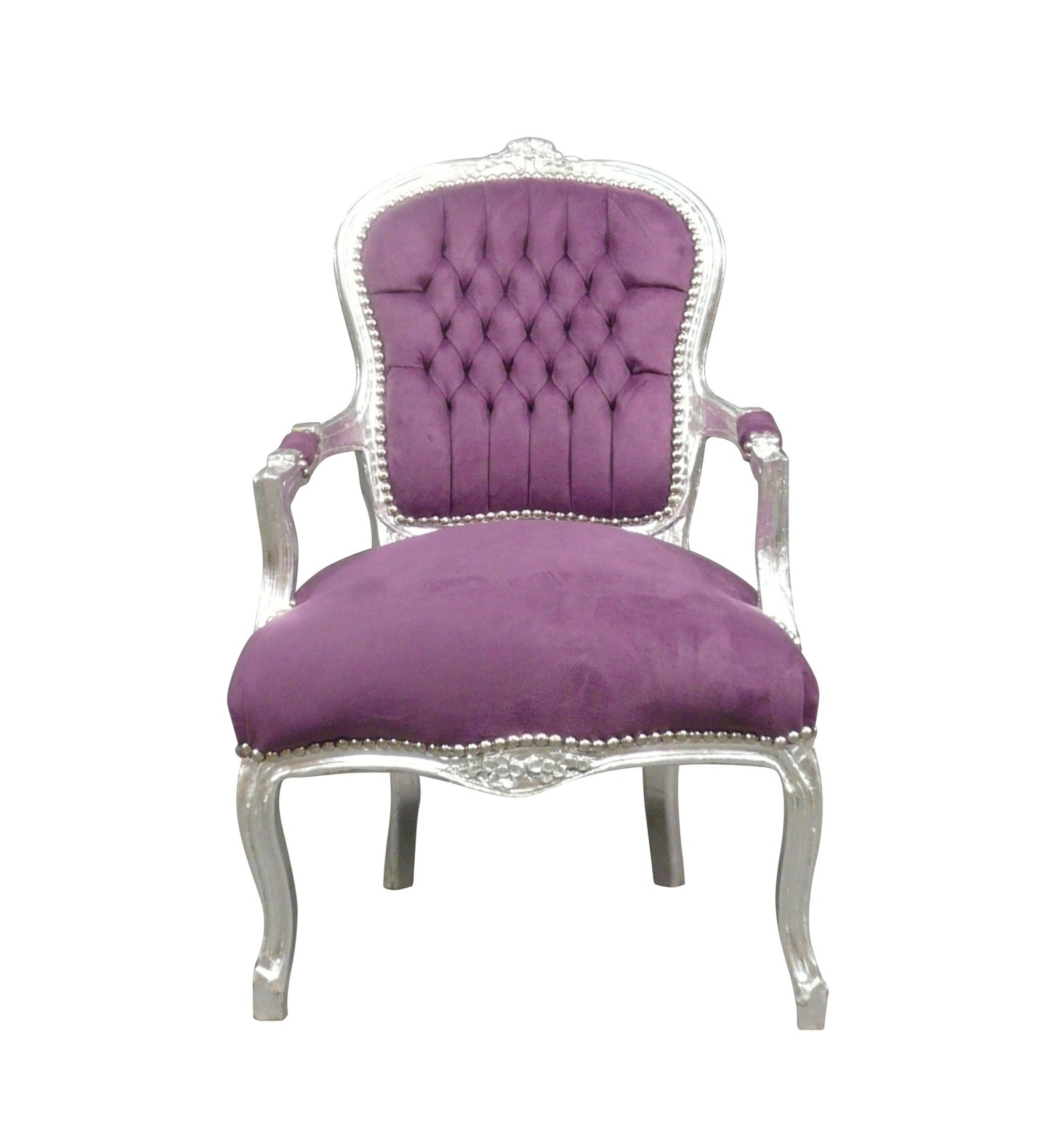 Sessel Lila Lila Louis Xv Sessel
