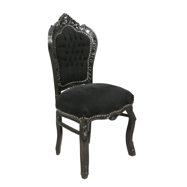 Chaise Baroque Argentee Chaises Pas Cher