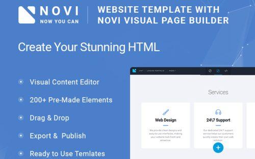 20 Best Bootstrap Website Templates 2018 - Powerful Business Website - how to create a website template