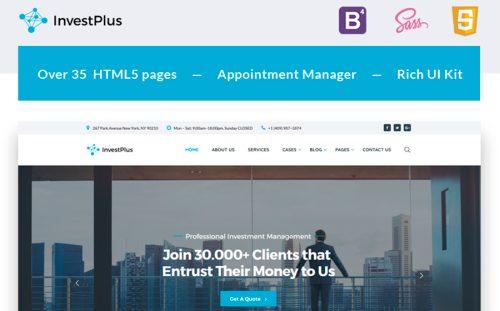 20 Best Bootstrap Website Templates 2018 - Powerful Business Website - property management websites templates