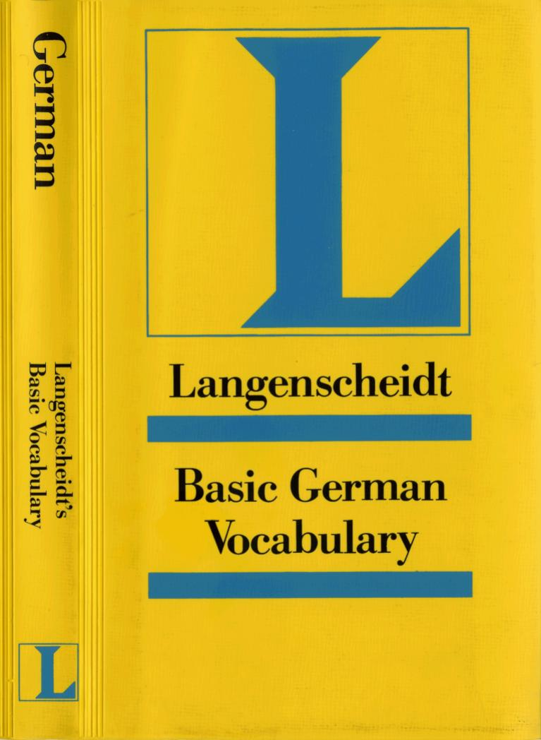 Langenscheidt Basic German Grammar Only Text Pdf Txt