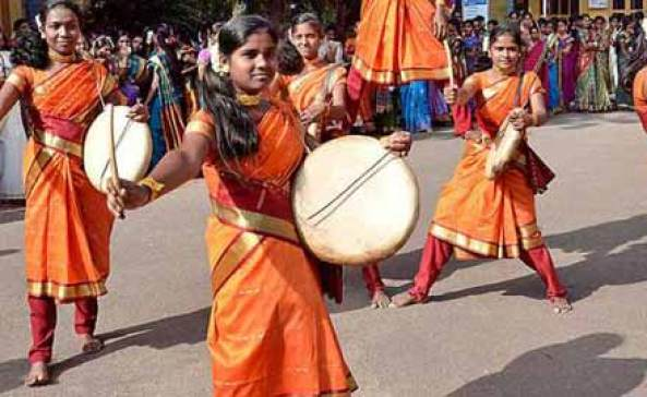 Image result for Tribal street performers in India