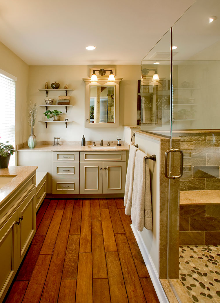 Holz Bad Rustic Bathrooms Designs & Remodeling | Htrenovations