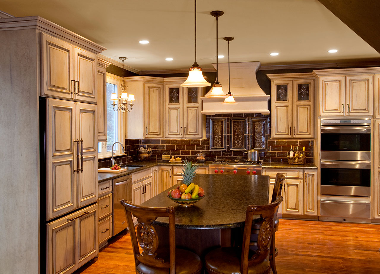 Cream Kitchen Design Country Kitchens Designs And Remodeling Htrenovations