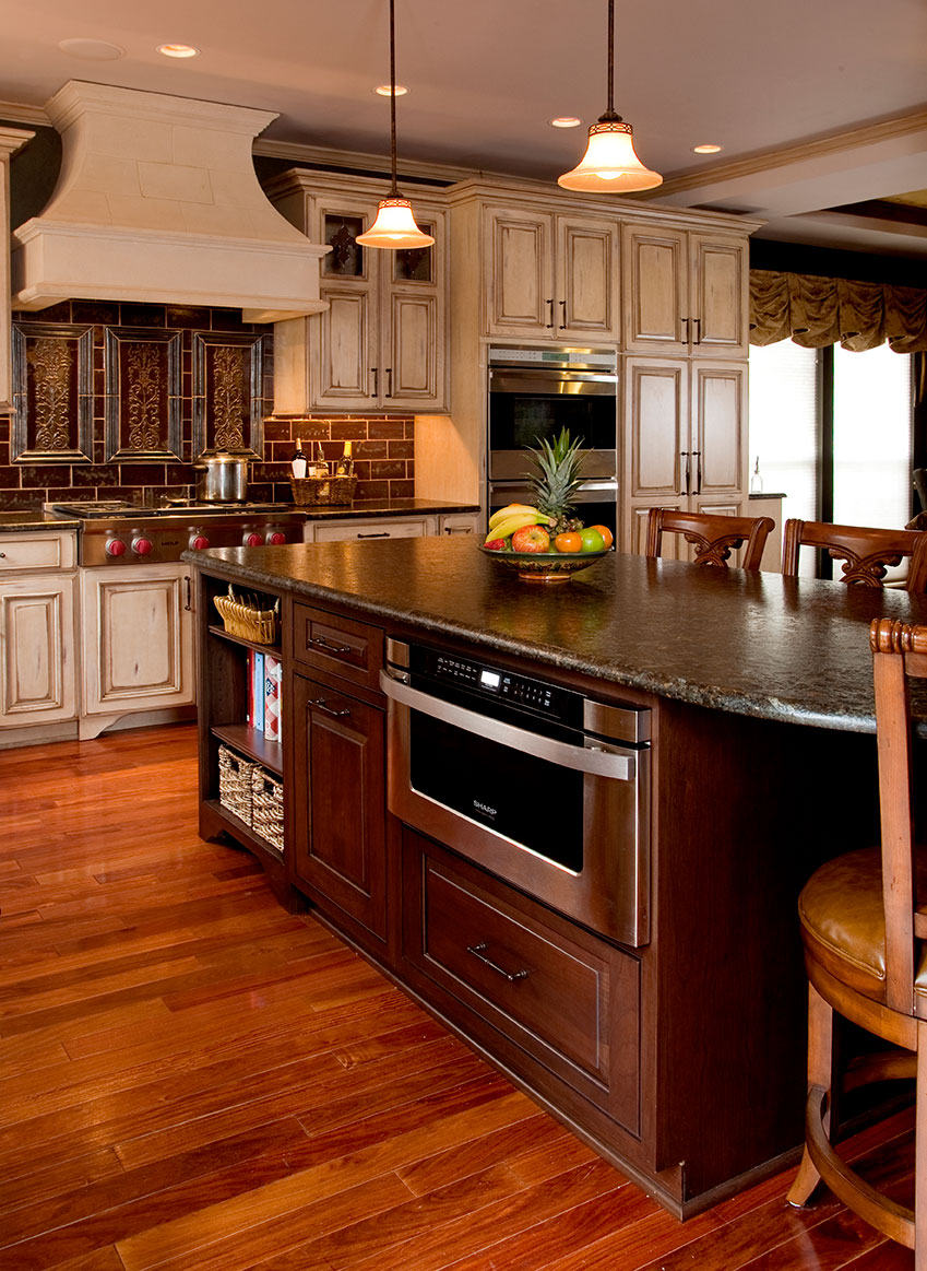French Country Kitchen Backsplash Country Kitchens | Designs & Remodeling | Htrenovations