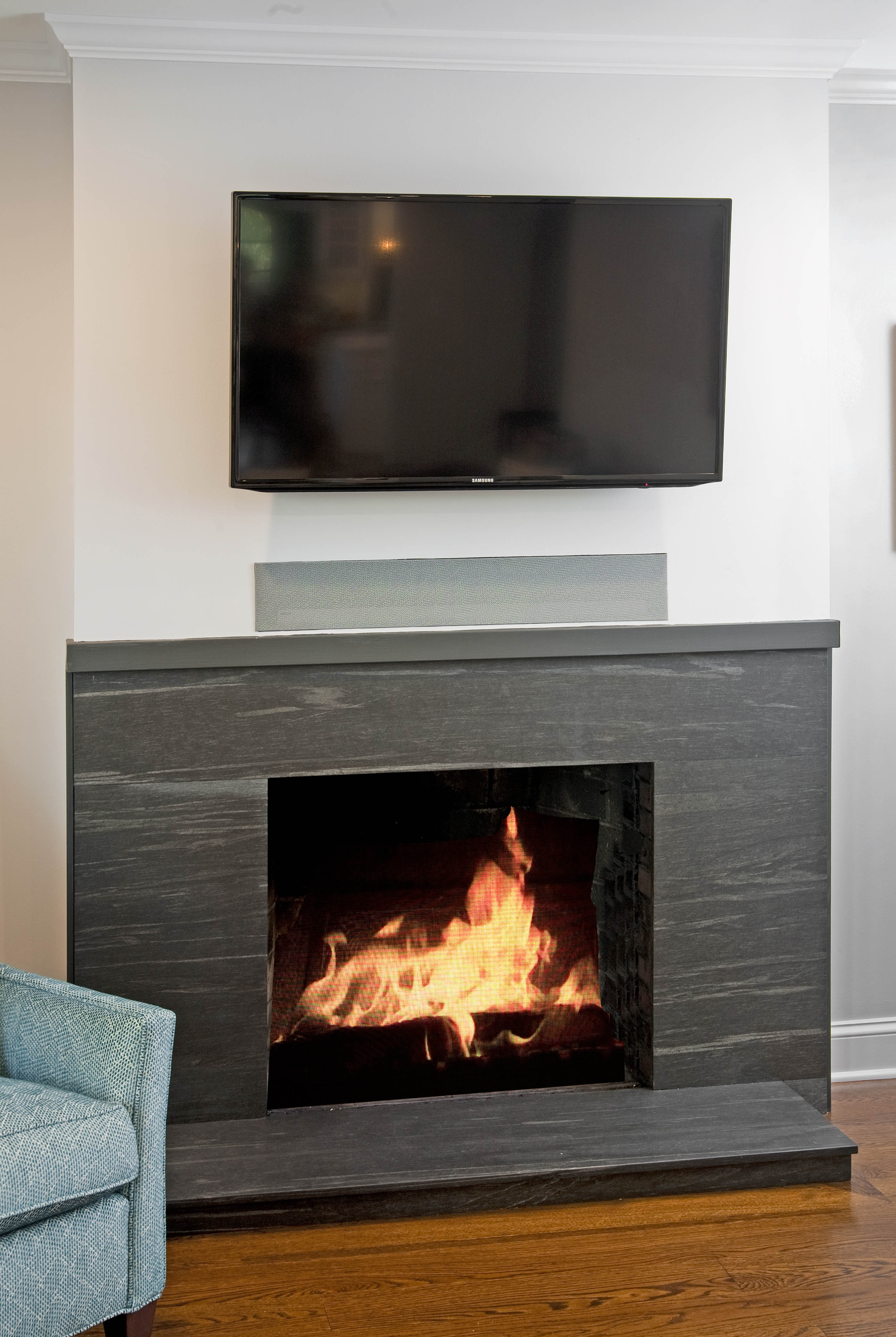 Fireplace Finishes Ideas Transitional Kitchens Designs And Remodeling Htrenovations