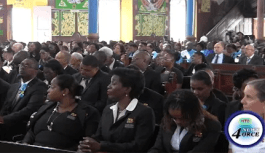 Sir Dunstan laid to rest