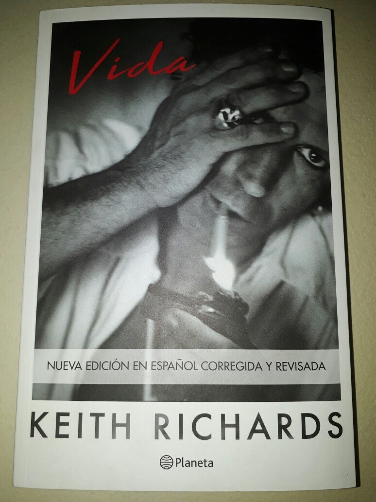 Libro De Keith Richards Vida Keith Richards Planeta