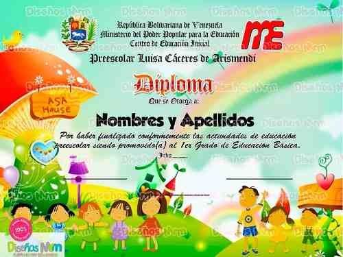 diplomas infantiles - Kubrakubkireklamowe