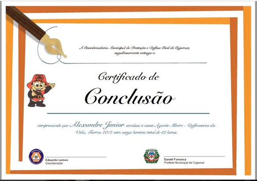 16 Modelos De Certificados Diplomas Editáveis Pdf, Word Ppt - R$ 13
