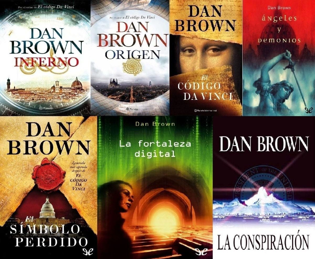 Dan Brown Libros Orden 5 2 Libros Dan Brown Dos De Regalo