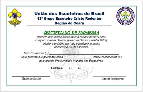 8 Modelos De Certificados Diplomas Editáveis Pdf, Word - 2 - R$ 8,99