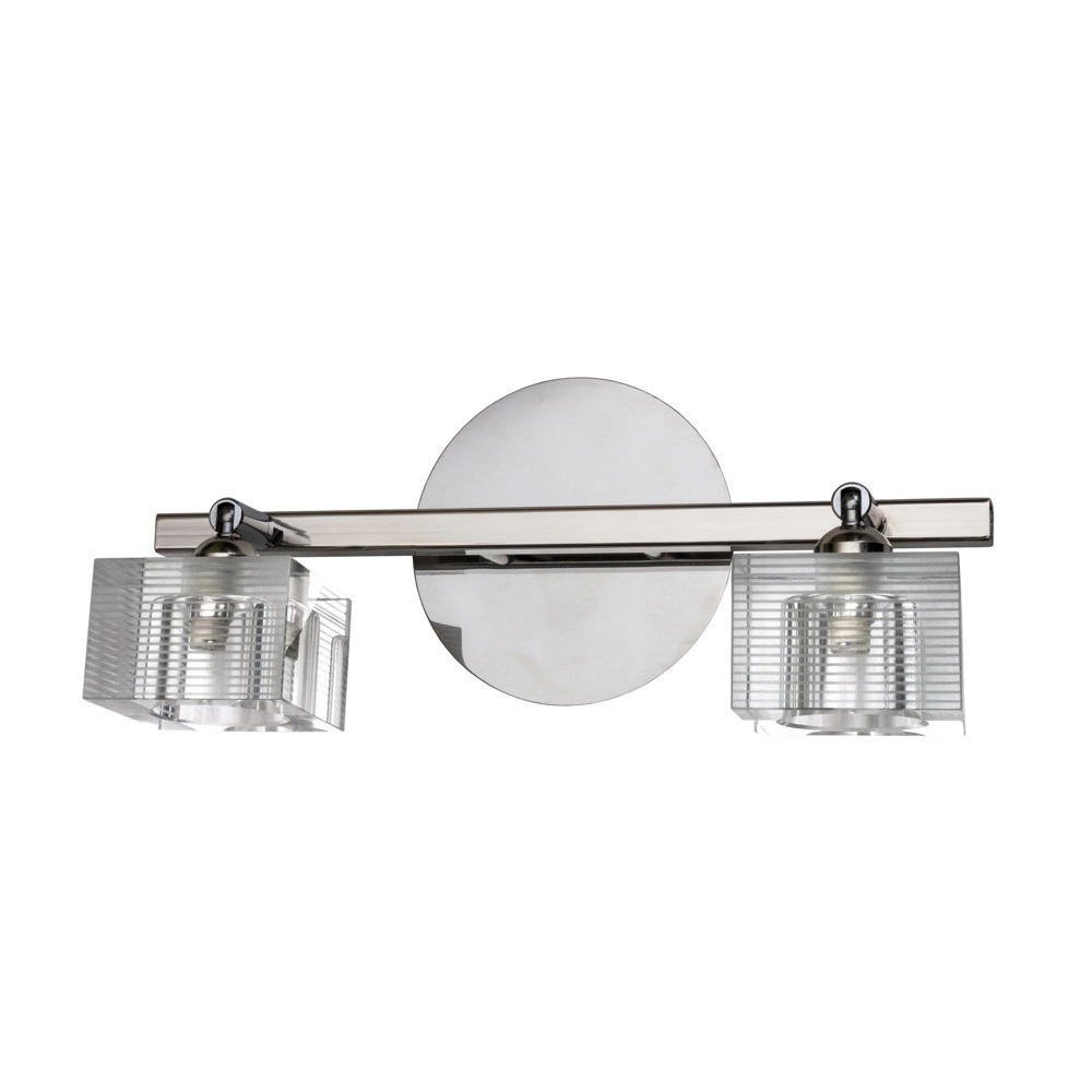 Aplique Baño Aplique Baño Barral Pared Espejo 2 Luces Tulipas Apto Led