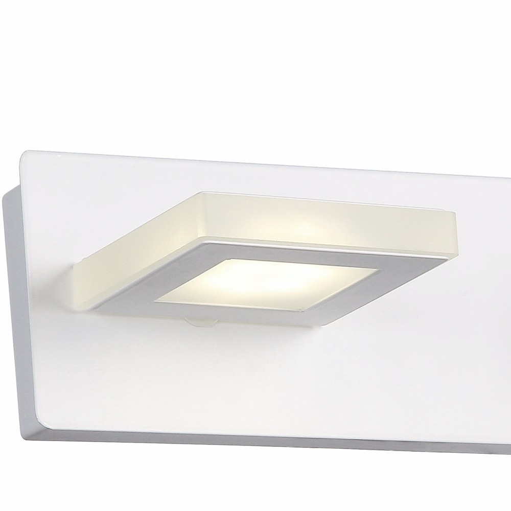Aplique Baño Aplique Luz Baño Led Pared Espejo 2 Luces Linea Elha
