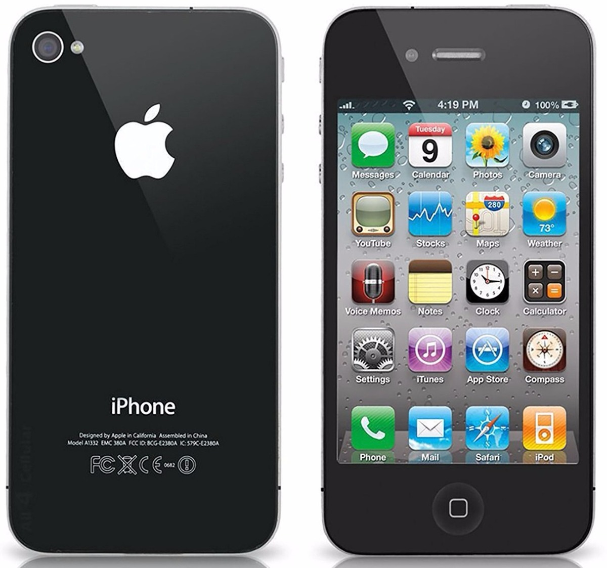 Venta De Moviles Libres Iphone Apple Iphone 4 A1332 512mb 8gb 699 000 En Mercado Libre