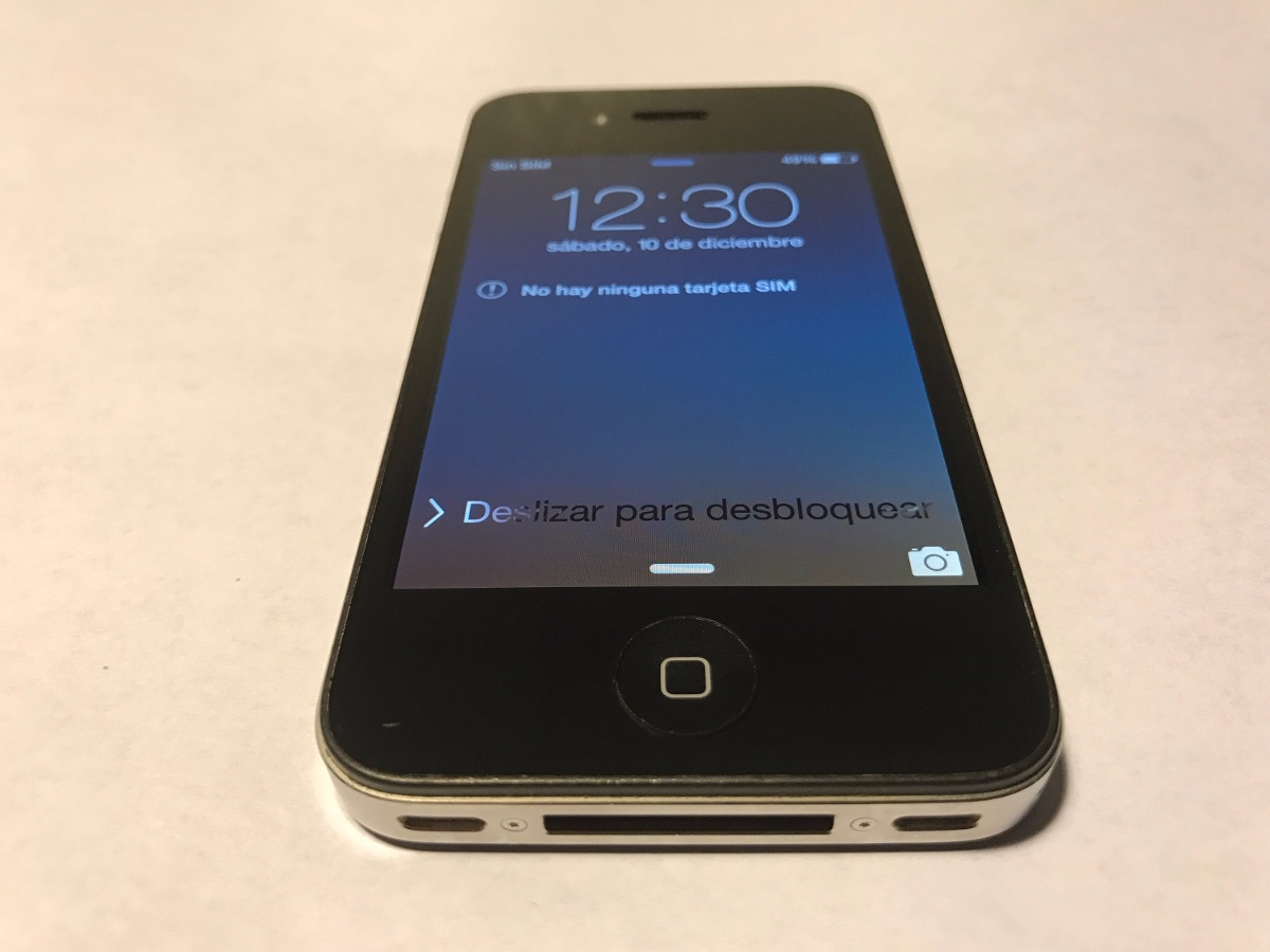 Iphone 4s 16gb Libre Apple Iphone 4s 16gb Telefono Celular 2 200 00 En