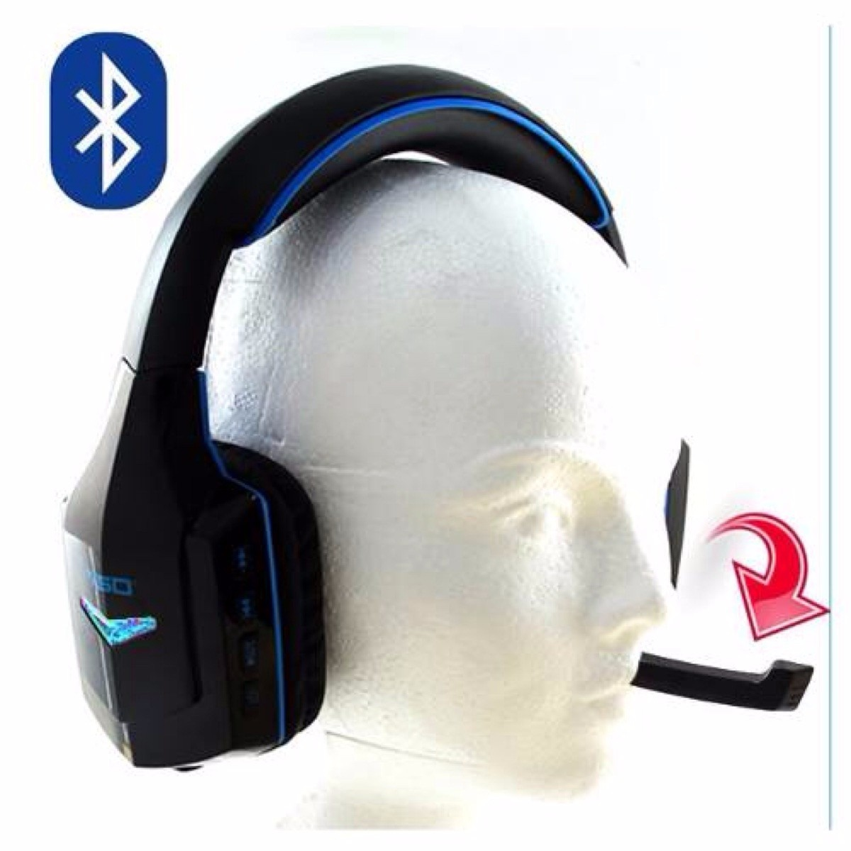 Manos Libres Bluetooth Inalambrico Audifonos Bluetooth Inalambricos Manos Libres Dj Pc Cel