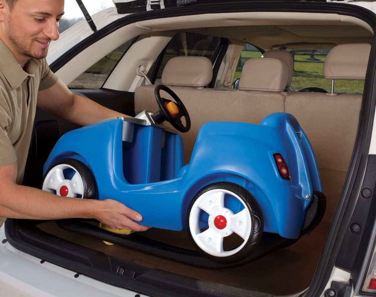 Mercado Libre Com Auto Para Niños Step2 Whisper Ride Ii Blue 2 599 00