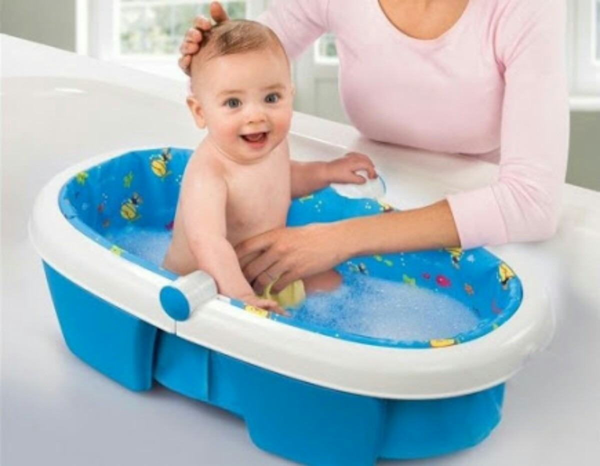 Bañar A Bebes Bañera Summer Infant Plegable 949 00 En Mercado Libre