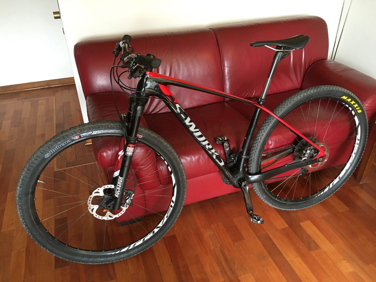 Cuadro Mtb 29 Carbono Bicicleta S Works Specialized St Jumper Ht 29 Xtr M