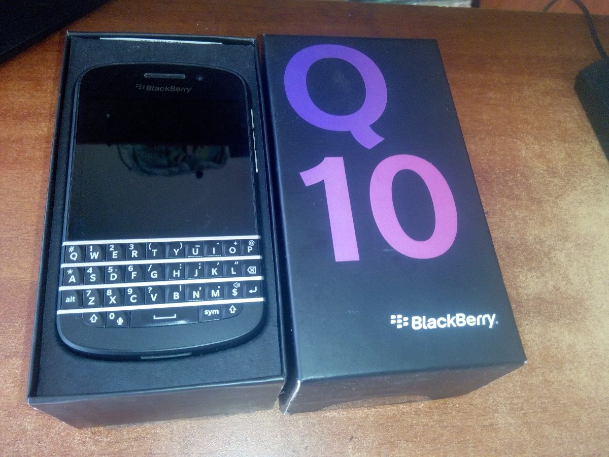 Blackberry Q10 Libre Blackbberry Q10 16gb Memoria 2gb De Ram Bs 859 900 00