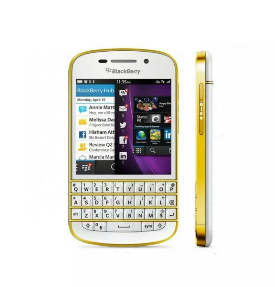 Blackberry Q10 Libre Blackberry Q10 Blanca Oro 5 000 00 En Mercado Libre