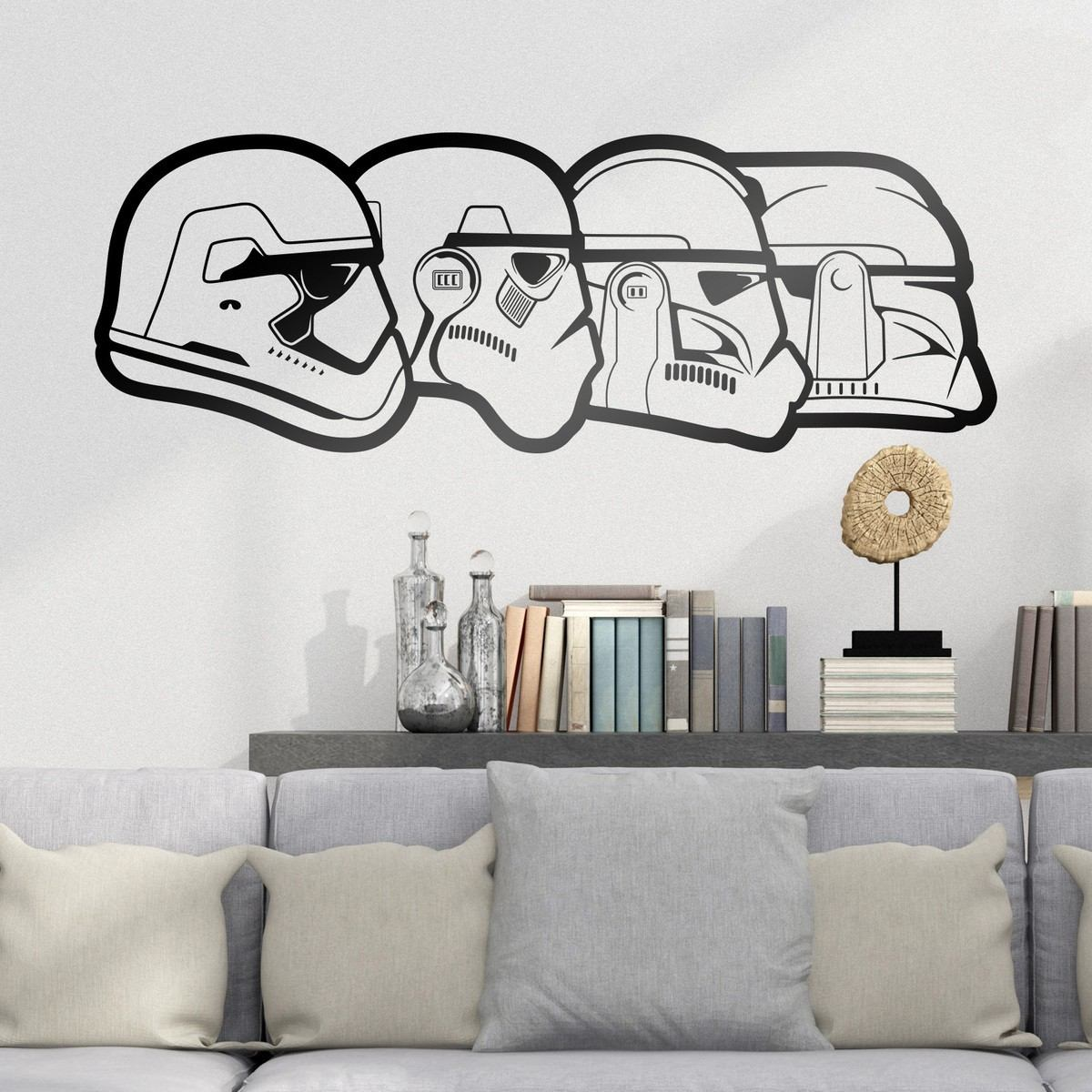Vinilos Decorativos Star Wars Bondai Vinilos Decorativos Star Wars Evolucion Stormtroopers