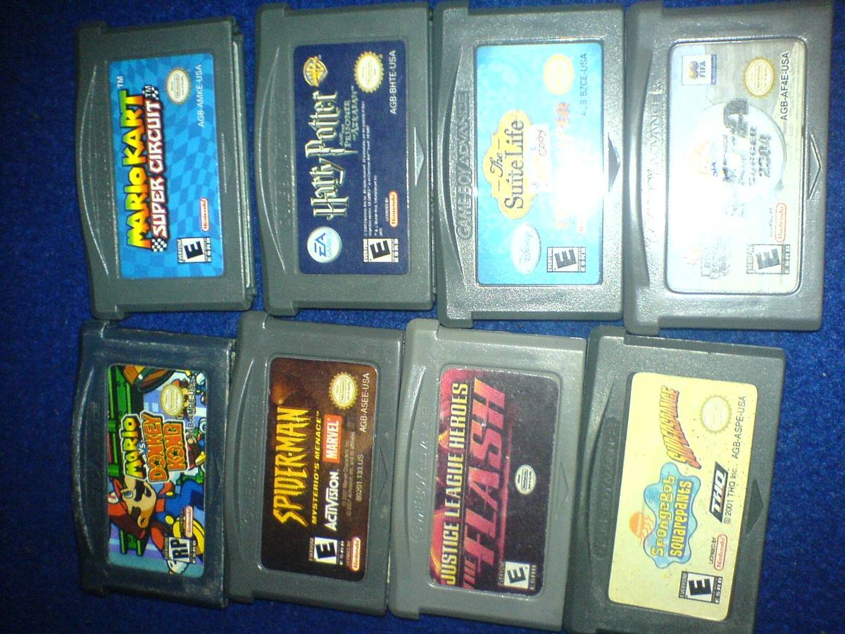 Xbox Live 12 Meses Barato 8 Cartuchos De Game Boy Advance Baratos 980 00 En