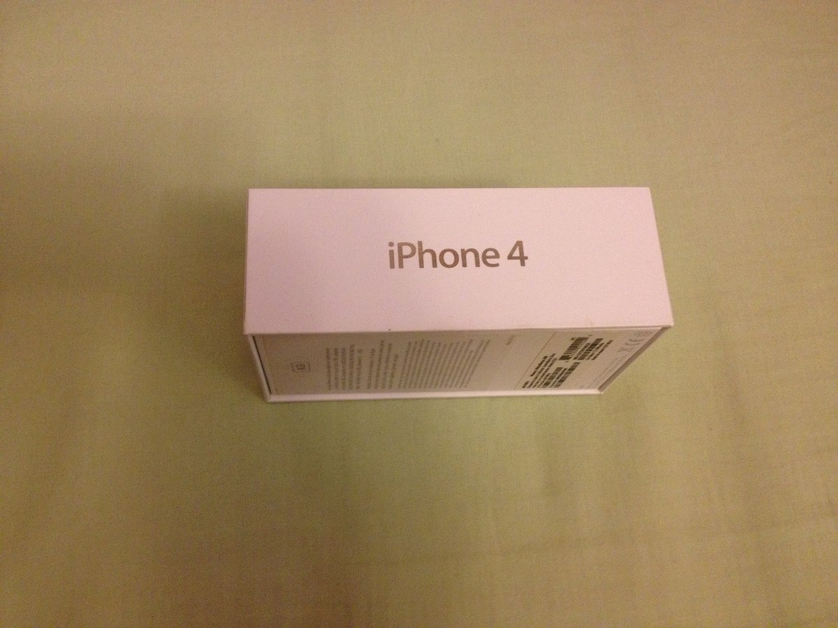 Vender Iphone 4 Libre Caja De Celular Iphone 4 16 Gb Con Manuales 200 00 En