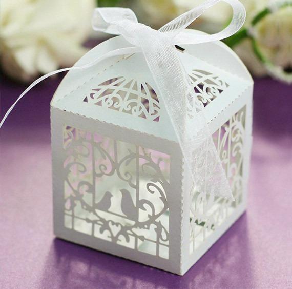 Cajitas Recordatorios Para Matrimonio, Boda, Baby Shower - $ 1800