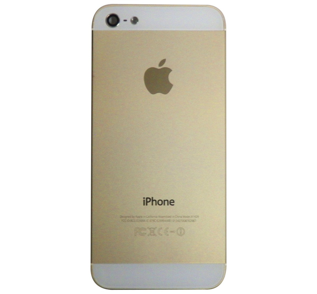 Phone House Iphone 5 Libre Carcasa Iphone 5 5g Dorada Con Botones 225 00 En