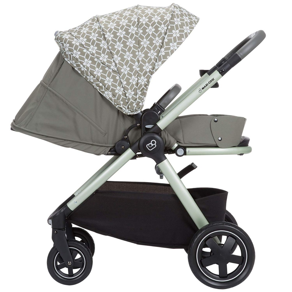 Maxi-cosi Adorra Travel System - Graphic Flower Carriola Maxi Cosi Adorra Modular Stroller Graphic Flower