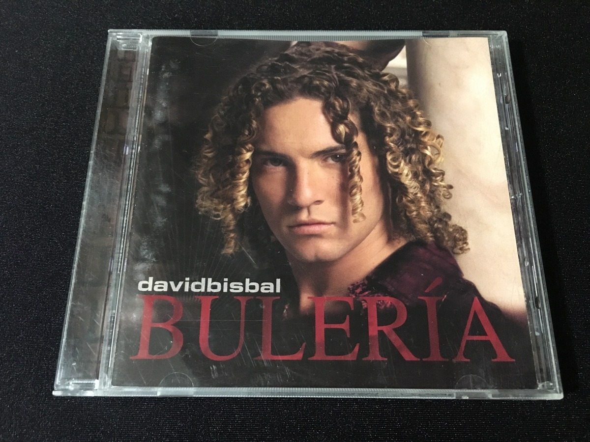 La Voz Libre David Bisbal Cd David Bisbal Album Buleria Rmc S 35 00