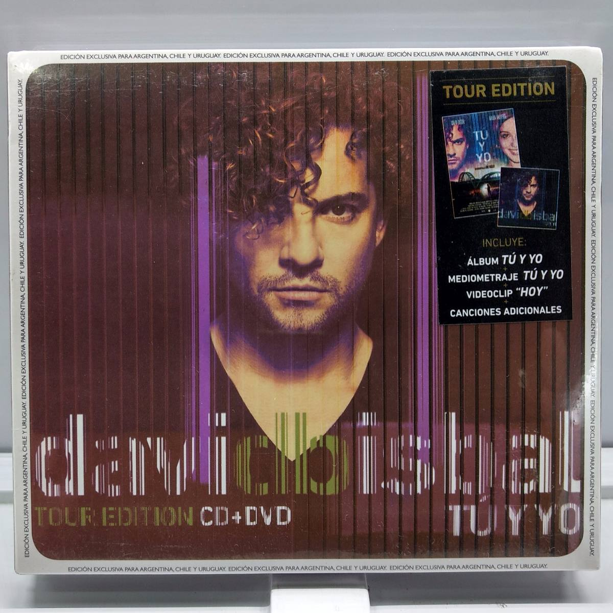 La Voz Libre David Bisbal Cd Dvd Nuevo Sellado David Bisbal Tu Y Yo Tour Edition