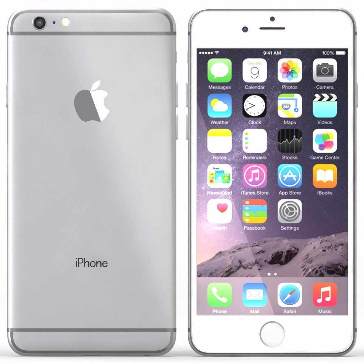 Alcampo Telefonos Moviles Libres Celular Apple Iphone 6 64gb Space Gray Grado A Caja