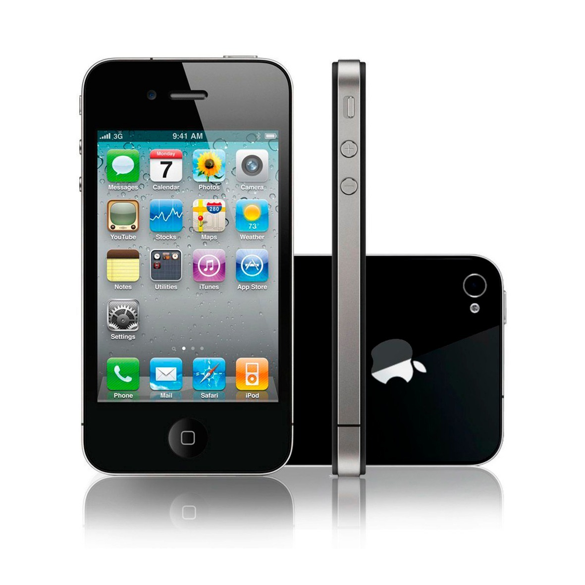 Iphone 4 Comprar Libre Celular Iphone 4s 32gb Negro Desbloqueado 1 999 00 En