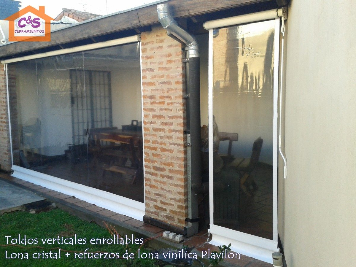 Store Vertical Extérieur Cristal Toldo Enrollable Exterior Simple Toldos With Toldo