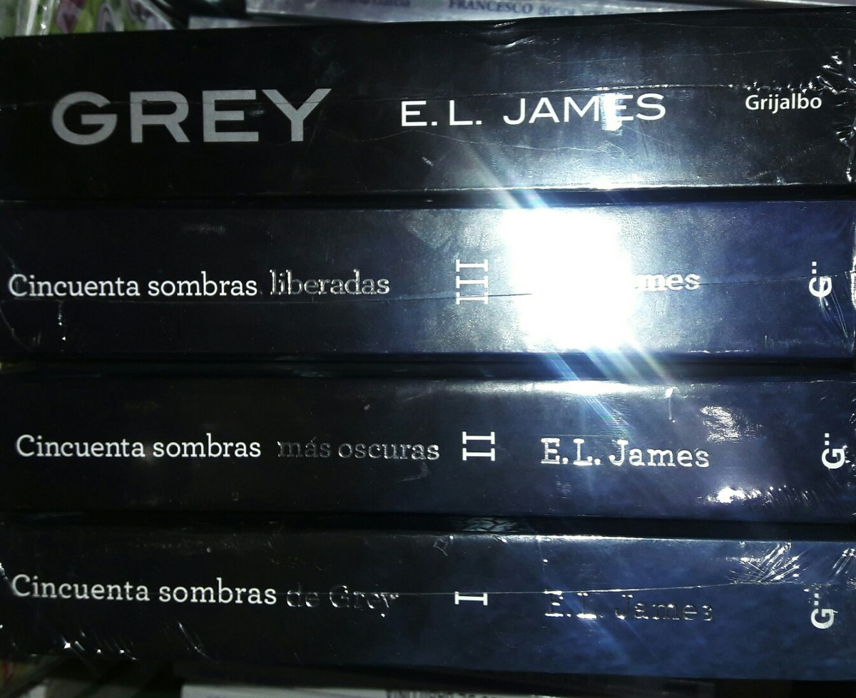 Libros E L James Cincuenta Sombras De Grey 4 Libros E L James Envio Gratis