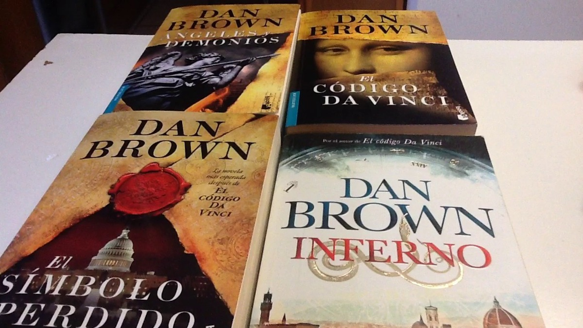 Dan Brown Libros Orden Coleccion Angeles Y Demonios Dan Brown Origen 5 Libros Pdf