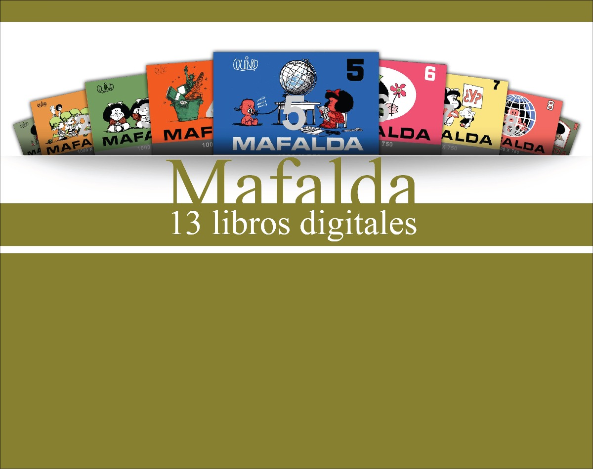 Vender Libros Digitales Coleccion Comics 13 Libros Digitales De Mafalda Bs 8