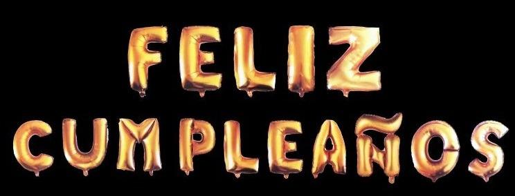 Combo De 15 Letras Globo Metalizado Feliz Cumpleaños - U$S 5,45 en