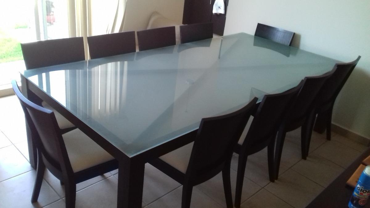 Mesas De Comedor Cristal Y Madera | Mesa De Comedor Transparent En ...