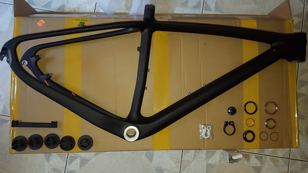 Cuadros Specialized Cuadro Carbono Generico Negro Mate 29er No Trek Specialized