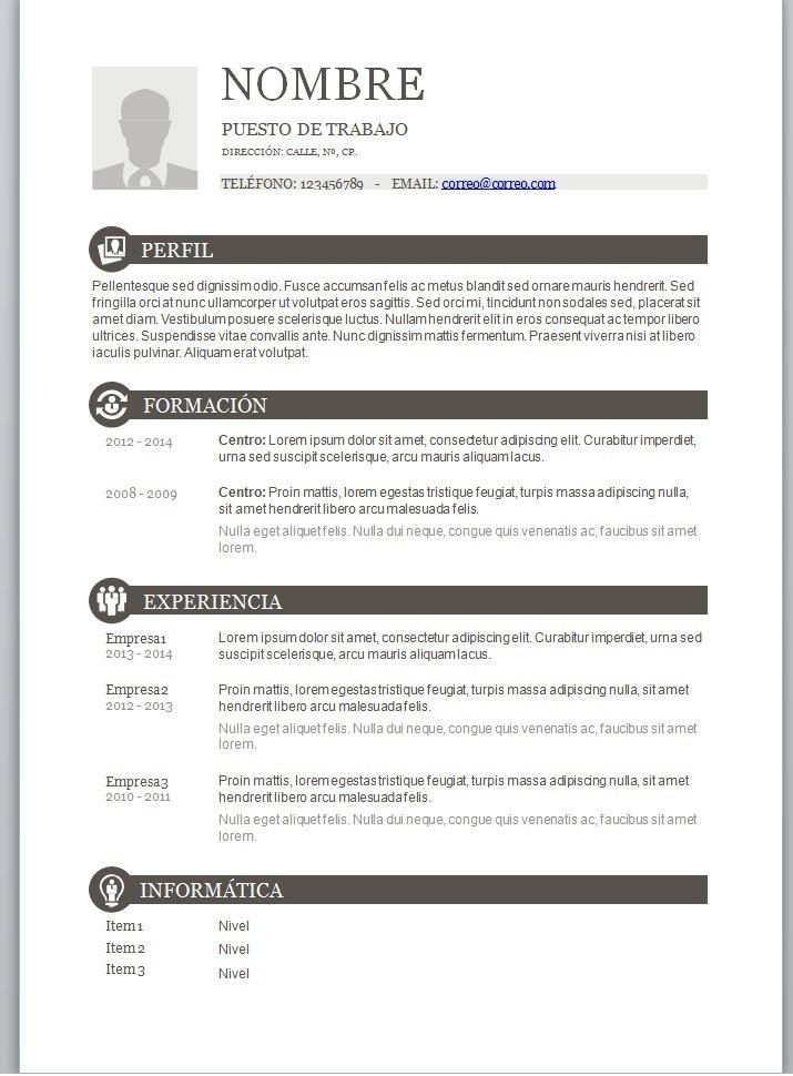Curriculum Vitae / Carta De Presentación - $ 1,000 en Mercado Libre