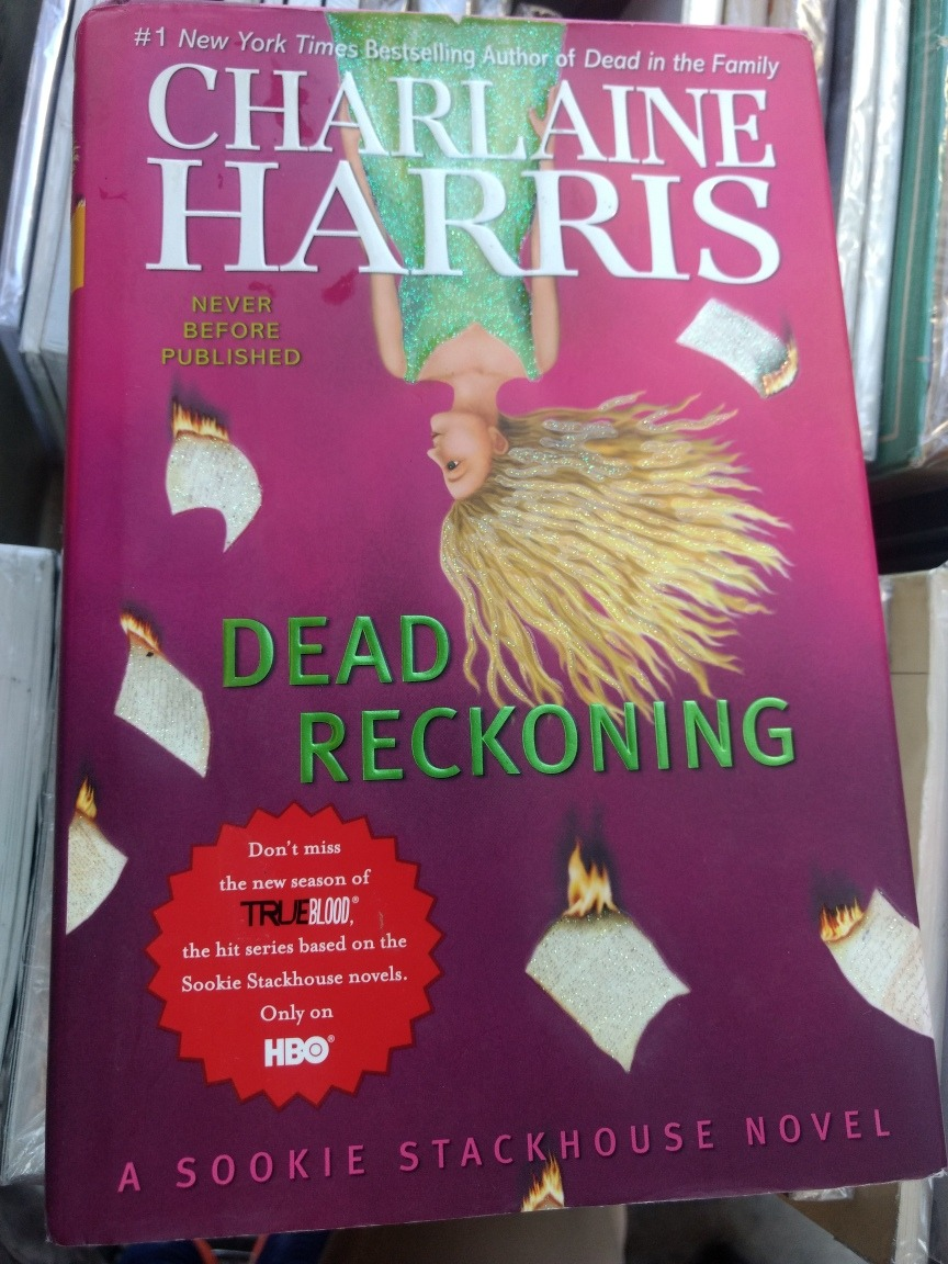 Charlaine Harris Libros Dead Reckoning Charlaine Harris Rf Libros True Blood 200 00